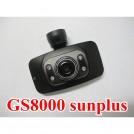 GS8000 - Автомобильный видеорегистратор 720P, LCD, ночная съемка, Full HD, 1920x1080