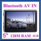 """5"""" автомобильный GPS навигатор с Bluetooth"""