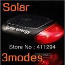 Задний габаритный фонарь для велосипеда с солнечным аккумулятором