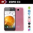 "Zopo C3/3382 - Смартфон, Android 4.2, MTK6589T 1.5GHz, 5.0"", Dual SIM, 1GB RAM, 16GB ROM, GSM, 3G, Bluetooth, GPS, Wi-Fi, основная камера 13Mpix"