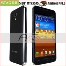"Star N9000 - смартфон, Android 4.0.3, MTK6575 (1GHz), 5"" TFT LCD, 512MB RAM, 4GB ROM, 3G, Wi-Fi, Bluetooth, GPS, FM, 5MP задняя камера, 1.3MP фронтальная камера"