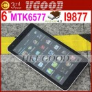 "DaPeng i9877 - смартфон, Android 4.0.3, MTK6577 (1GHz), 6"" TFT LCD, 512MB RAM, 4GB ROM, 3G, Wi-Fi, Bluetooth, GPS, FM, 5MP задняя камера, 0.3MP фронтальная камера"