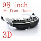 """lv940 - видео-очки, 98"""", 3D, 854x480"""