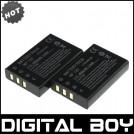 NP-60 - 2 аккумулятора Li-ion 1200 мАч для FUJI FinePix M603 F601 F410 F401 50i Zoom
