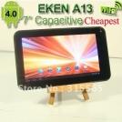 """EKEN A13 - планшетный компьютер, Android 4.0.3, TFT LCD 7"""", 1GHz, 512MB RAM, 4GB ROM, Wi-Fi, 0.3MP фронтальная камера"""