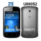 "ZTE U880S2 - смартфон, Android 2.3, 1GHz, 3.5"", 3G, 256Мб RAM, 512Мб ROM, Wi-Fi, Bluetooth, основная камера 3.0МП, фронтальная камера 0.3МП"