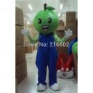 Ростовая кукла зеленое яблоко