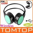 V309GR - Беспроводные стереонаушники MP3, FM, SD