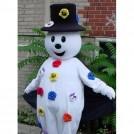 Ростовая кукла белый снеговик