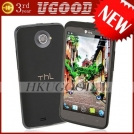 "ThL W5 - смартфон, Android 4.0.4, MTK6577 (1.2GHz), HD 4.7"" IPS, 1GB RAM, 4GB ROM, 3G, Wi-Fi, Bluetooth, GPS, 8MP задняя камера, 2MP фронтальная камера"