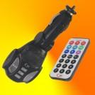 Автомобильный FM трансмиттер, MP3, SD/MMC/TF, ПДУ