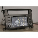 "CP-LC7000 - автомобильная магнитола, 7"" TFT LCD, Touch Screen, DVD, MP3/MP4, 8-VCD, GPS + 2GB, Bluetooth, TV/FM для Land Cruiser 100 series (1998-2004) /Amazon, Lexus LX 470"