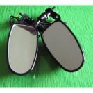Боковые зеркала / поворотные сигналы для мотоцикла, универсальные, светодиодные