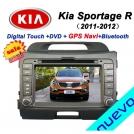 "ND-1812 - автомобильная магнитола, 7"" TFT LCD, Touch Screen, GPS, Bluetooth, TV/FM для Kia Sportage (2011-2012)"