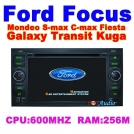 Автомобильный DVD для FORD FOCUS 2004-2007 KUGA GALAXY FIESTA