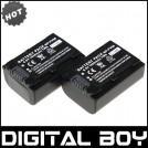 NP-FV50 - 2 аккумулятора для Sony HDR-XR550E XR350E XR150E