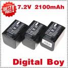 NP-FH70 - 3 аккумулятора Li-ion 2100 мАч для Sony DCR-HC24E DCR-DVD305E