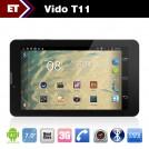 "Vido T11 - Планшетный компьютер, Android 4.1, MTK8377 1.2GHz, 7"", Dual SIM, 512MB RAM, 4GB ROM, GSM, 3G, Wi-Fi, Bluetooth, GPS, HDMI, основная камера 2.0Mpix"