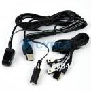 TK0147 - IR переходник с USB + 4 эмиттера