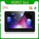 "Ployer Momo7 Bird - планшетный компьютер, Android 4.0.3, 7"" TFT LCD, All Winner A10 (1.2GHz), 1GB RAM, 8GB ROM, Wi-Fi, HDMI, 0.3MP фронтальная камера"