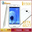 "Tianji i9300/S3 - смартфон, Android 4.1.1, MTK6577 (1.2GHz), 4.6"" TFT LCD, 512MB RAM, 4GB ROM, 3G, Wi-Fi, Bluetooth, GPS, 8MP камера"