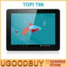 "TOPI T66 - планшетный компьютер, Android 4.1.1, 9.7"" IPS, Rockchip RK3066 (2x1.6GHz), 1GB RAM, 16GB ROM, Wi-Fi, Bluetooth, HDMI, 0.3MP фронтальная камера, 2MP задняя камера"