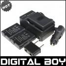 EN-EL14 - батарея, зарядное устройство, автомобильное зарядное устройство для камер Nikon D3100 D5100 D3200 P7000 P7100