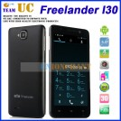 "Freelander i30 - смартфон, Android 4.1, MTK6589 Cortex A9 Quad Core 1.2Ghz, 5.0"" IPS 1080Р, 2 SIM-карты, 1ГБ RAM, 4ГБ ROM, поддержка карт microSD, WCDMA/GSM, Wi-Fi, Bluetooth, GPS, FM-радио, основная камера 8МП и фронтальная камера 2МП"