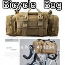 Многофункциональная велосипедная сумка-трансформер, велосипедная сумка с креплением на руле / наплечная сумка, 0.48kg