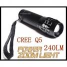 Передний фонарь для велосипеда светодиодный CREE