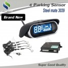Steelmate - сенсорная парковочная система, 4 парктроника, LCD