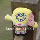 Говорящая мягкая игрушка Губка Боб Квадратные Штаны, 12 секунд звукозаписи