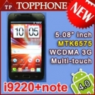 "Star i9220 - смартфон, Android 4.0.3, MTK6575 (1GHz), 5.1"" TFT LCD, 512MB RAM, 4GB ROM, 3G, Wi-Fi, Bluetooth, GPS, FM, 8MP задняя камера, 0.3MP фронтальная камера"