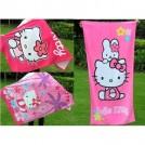 "Банное полотенце ""Hello Kitty"", 100% хлопок"