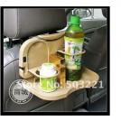Автомобильный столик для еды и напитков с креплением на кресло