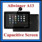 "Tablet PC Q88 - планшетный компьютер, Android 4.0.3, Allwinner A13 (1.2GHz), 7"" TFT LCD, 512MB RAM, 4GB ROM, Wi-Fi, 1.3MP фронтальная камера"