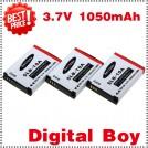 SLB10A - 3 аккумулятора Li-ion для Samsung WB500 PL50 PL55 PL70 PL60 L210 L100 L110 IT100