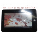 "DH-TP331 - планшетный компьютер, Android 4.0.3, 7"" TFT LCD, ATM7013 (1.2GHz), 512MB RAM, 4GB ROM, Wi-Fi, 0.3MP фронтальная камера"