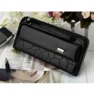 Глянцевый женский кошелёк-сумочка с отделом под телефон 1Q0010