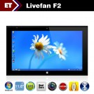 "Livefan F2 - Планшетный компьютер, Windows 8, Intel Celeron 1037U Dual Core 1.8GHz, 11.6"", 4GB RAM, 64GB ROM, Bluetooth, HDMI, Wi-Fi, основная камера 5.0Mpix"