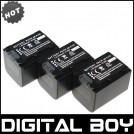 NP FV70 - 3 аккумулятора Li-ion для Sony NP-FV30 DCR-HC16E DCR-HC16F DCR-HC17