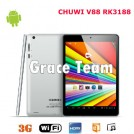 "Chuwi V88 - планшетный компьютер, Android 4.1, Rockchip RK3188 Cortex A9 Quad Core 1.8Ghz. 7.85"" IPS, 2GB RAM, 16GB ROM, Wi-Fi, HDMI, OTG, основная камера 5МП и фронтальная камера 2МП"