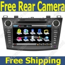 "MZL-22 - автомобильная магнитола, WinCE 6.0, 7"" TFT LCD, Touch Screen, DVD/CD, GPS, TV/FM, Bluetooth для Mazda 3 (2010-2012)"