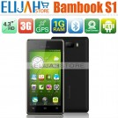 "Bambook S1 - смартфон, Android 4.1, ST-Ericsson U8500 Dual Core Cortex A9 1.0GHz, 4.3"" QHD, 1 SIM-карта, 1ГБ RAM, 8ГБ ROM, поддержка карт microSD, WCDMA/GSM, Wi-Fi, Bluetooth, GPS, FM-радио, основная камера 5МП и фронтальная камера 0.3МП"