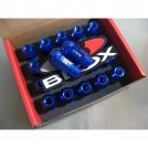 Набор из 20 алюминиевых гаек фирмы Blox для крепления колес P 1.5, L : 50mm