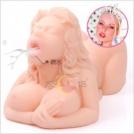 Многофункциональная кукла-мастурбатор.