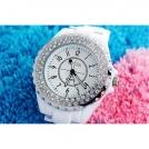 Наручные часы H024 с кристаллами