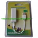 USB Ethernet RJ-45 Network LAN Adapter, 10/100 mbps