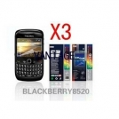 Защитная пленка для BlackBerry Curve 8520/8530 (3 штуки)