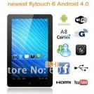"Flytouch 6/SuperPad VI - планшетный компьютер, Android 4.0, 10.1"", 1GHz, 1GB RAM, 4/8/16GB ROM, HDMI, Wi-Fi, GPS"